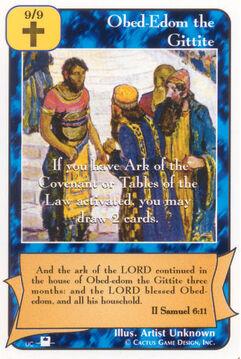 Obed-Edom the Gittite (Pi)