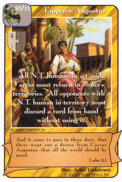 Emperor Augustus - Promotional