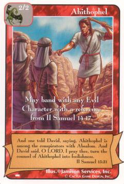 Ahithophel - Kings