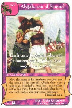Abijah, son of Samuel (Pi) - Priests