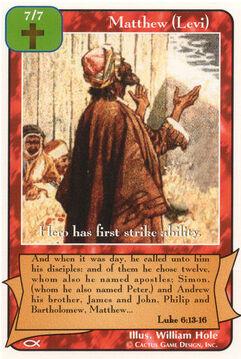 Matthew (Levi) - Apostles