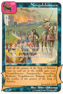 Nergalsharezer (FF) - Faith of Fathers