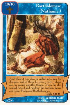 Bartholomew (Nathaniel) (Ap)