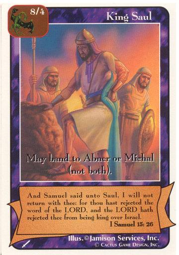 King Saul (Wa) | Redemption Wiki | FANDOM powered by Wikia
