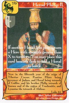 Herod Philip II (Di)