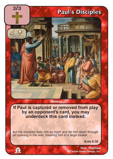 Paul's Disciples (TEC, Old)