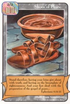 Shoes of Peace (D)