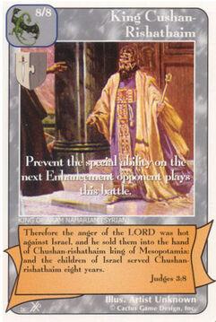 King Cushan-Rishathaim (FF) - Faith of Fathers