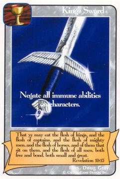 King's Sword - H Deck