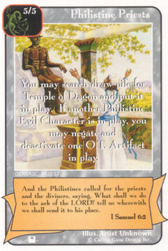 Philistine Priests (Pi) - Priests