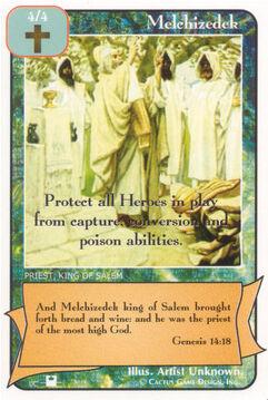 Melchizedek (Pi) - Priests
