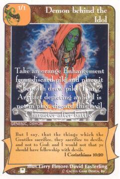 Demon behind the Idol (Pi) - Priests