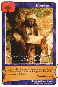 Epaphras - Apostles
