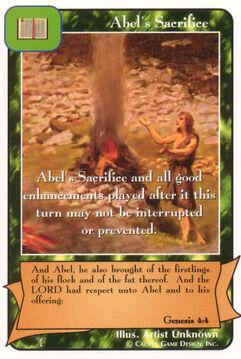 Abel's Sacrifice - Patriarchs
