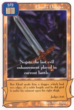 Ehud's Dagger - Kings