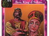 Bera, King of Sodom (Pa)