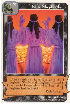 False Shepherds (A)