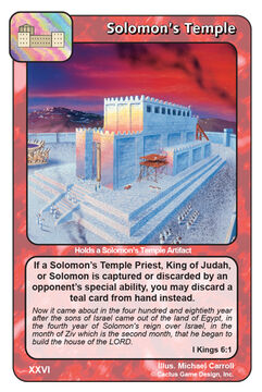 Solomon's Temple (tin)
