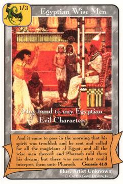 Egyptian Wise Men - Patriarchs
