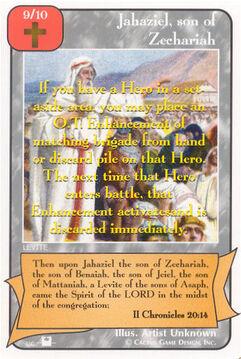 Jahaziel, son of Zechariah (Pi) - Priests