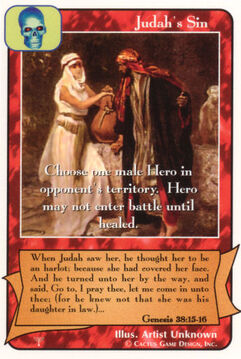 Judah's Sin - Patriarchs