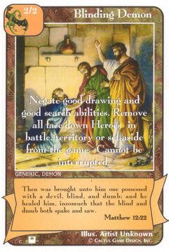 Blinding Demon (Pi) - Priests