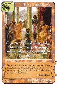 King Sennecherib - Kings