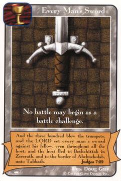 Every Man's Sword - Kings