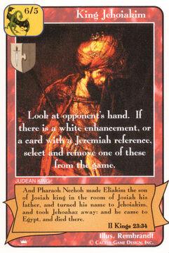 King Jehoiakim - Kings