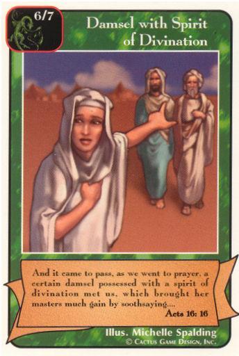 Damsel with Spirit of Divination (Pr) | Redemption Wiki