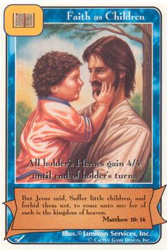 Faith as Children - Warriors
