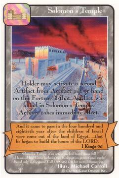 Solomon's Temple - Patriarchs