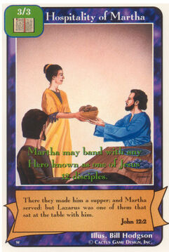 Hospitality of Martha - Women