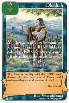 Obadiah (FF) - Faith of Fathers