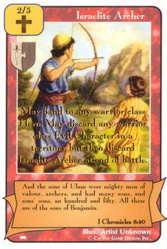 Israelite Archer - Kings