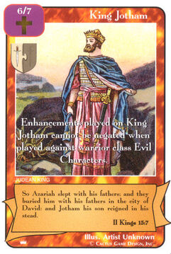 King Jotham - Kings