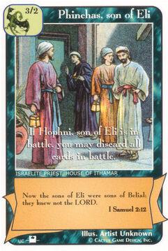 Phinehas, son of Eli (Pi) - Priests