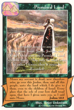 Promised Land - Patriarchs