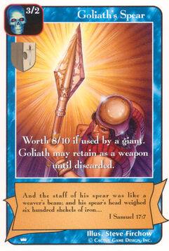 Goliath's Spear - Kings
