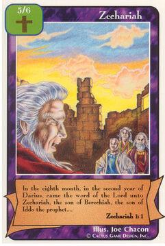Zechariah - Prophets