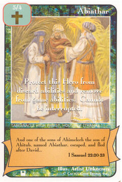 Abiathar (Pi) - Priests