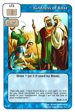 Kindness of Boaz (J)