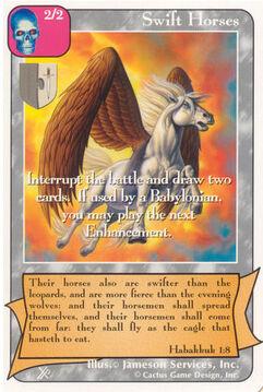 Swift Horses (FF) - Faith of Fathers