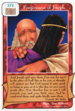 Forgiveness of Joseph - Unlimited