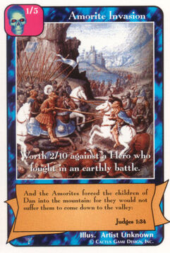 Amorite Invasion - Patriarchs