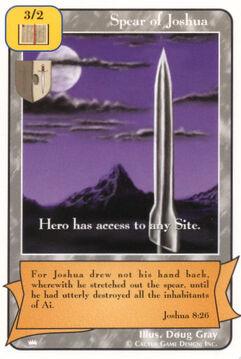 Spear of Joshua - Kings