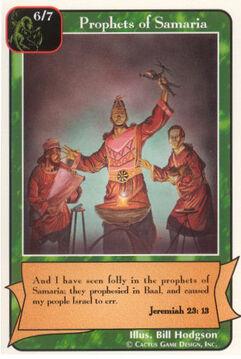 Prophets of Samaria - Prophets