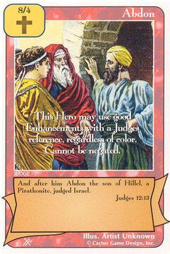 Abdon (FF) - Faith of Fathers