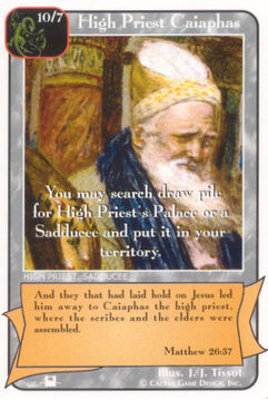 High Priest Caiaphas (Pi) - Priests