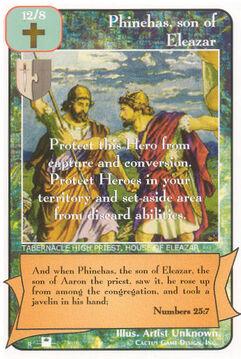 Phinehas, son of Eleazar (Pi) - Priests